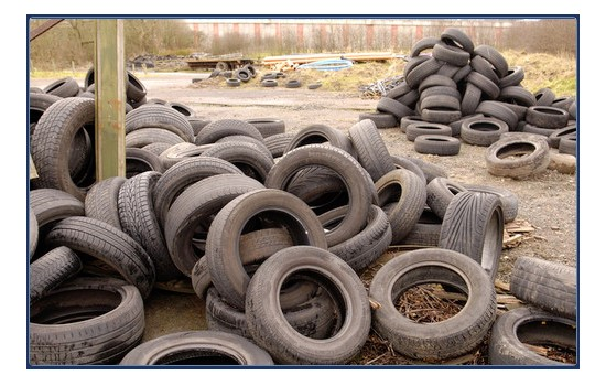 Environment Minister Mark H Durkan today set out his action plan to address the problem of used tyres.