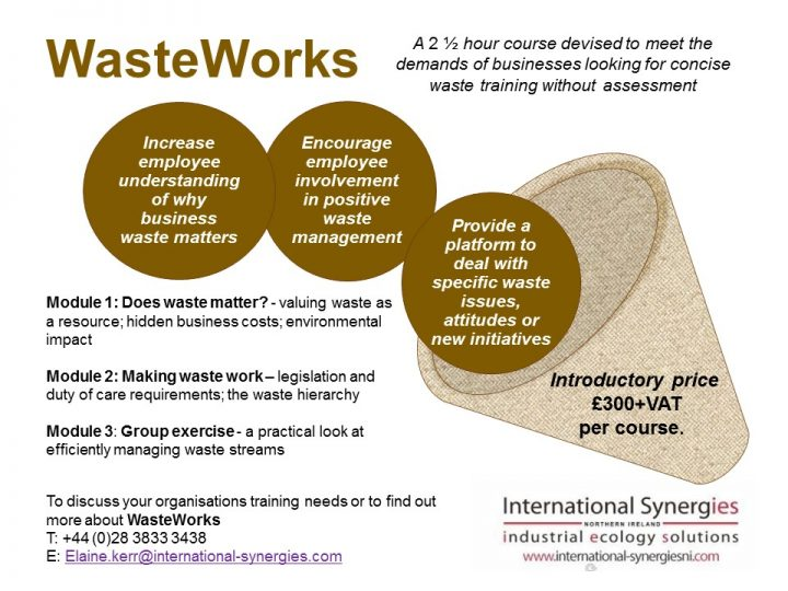 WasteWorks Training available now